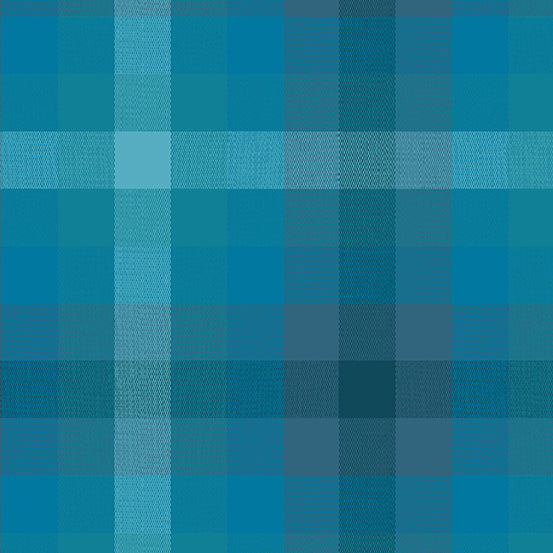 Kaleidoscope Stripes + Plaids - Plaid in Denim - Alison Glass for Andover - WV-9541-DENIM - 1/2 Yard