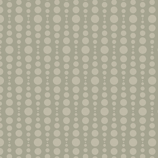 Stealth - Bubble in Khaki - Libs Elliott for Andover - A-9661-N - Half Yard
