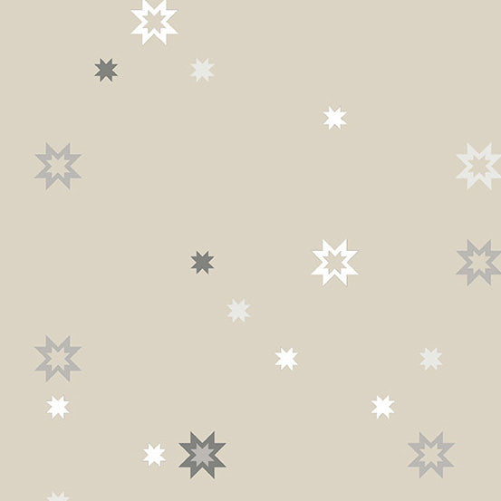 Stealth - North Star in Canvas - Libs Elliott for Andover - A-9663-N - Half Yard