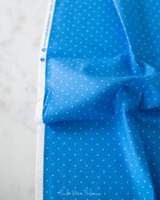 Sweet Shoppe Too - Candy Dot in Electric Blue - Andover - A-9235-B2 - Half Yard