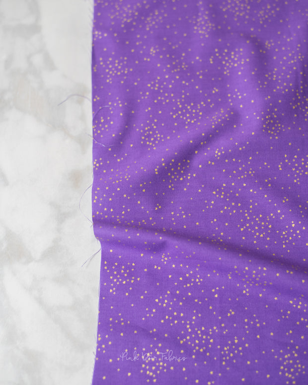 Rainbow Shimmer - Shimmer in Violet - Andover - A-9553-MP - Half Yard
