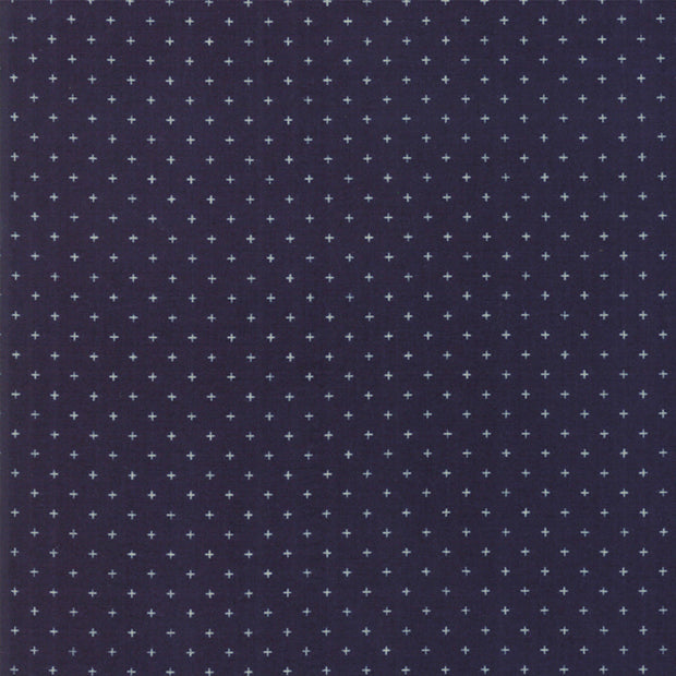 Alma - Add It Up in Navy - Alexia Abegg for Ruby Star Society - RS4005 27 - Half Yard