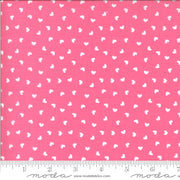 Be Mine - Sweetness in Tonal (white hearts on white) - Stacey Iest Hsu for Moda - 20717 31 - Half Yard