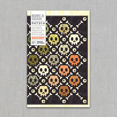 Bone and Chain - Quilt Pattern - Basic Grey - Paper Pattern