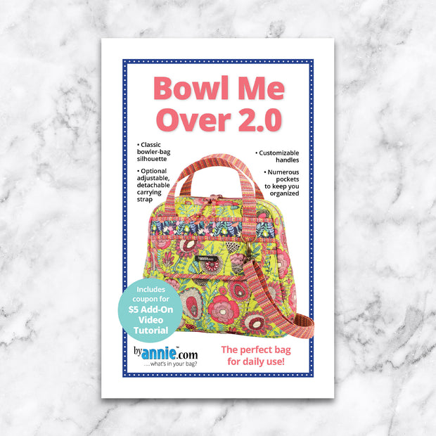 Bowl Me Over - Patterns by Annie - Paper Pattern - PBA249-2