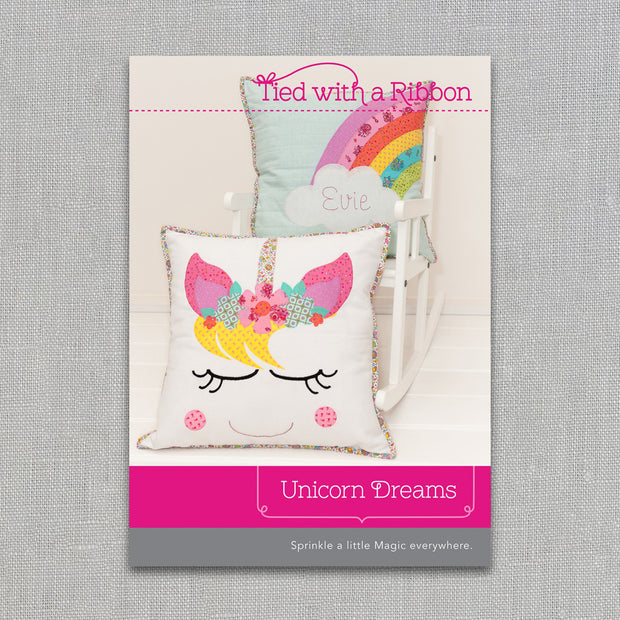 Unicorn Dreams - Quilt Pattern - Tied With a Ribbon - Paper Pattern