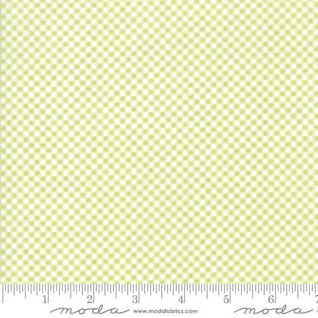 Catalina - Gingham in Grass - Fig Tree Quilts for Moda - 20375 16 - Half Yard