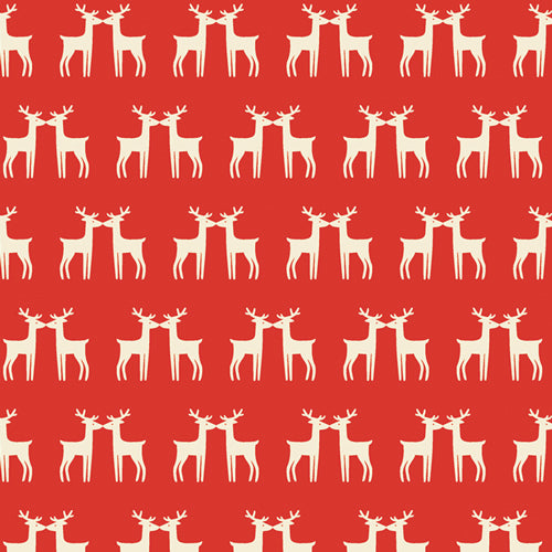 Cozy & Joyful - Under the Mistletoe - Maureen Cracknell for AGF - CJO-1257 - Half Yard