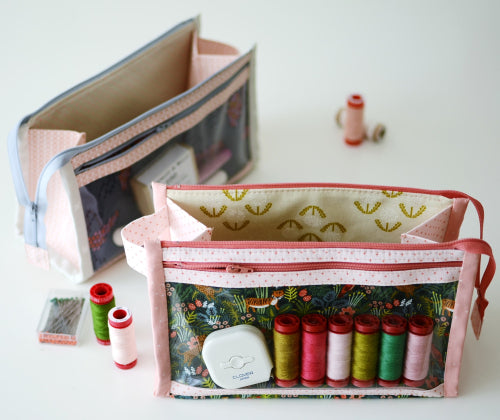 Inside Outside Pouch - Sewing Pattern - Aneela Hoey - Paper Pattern