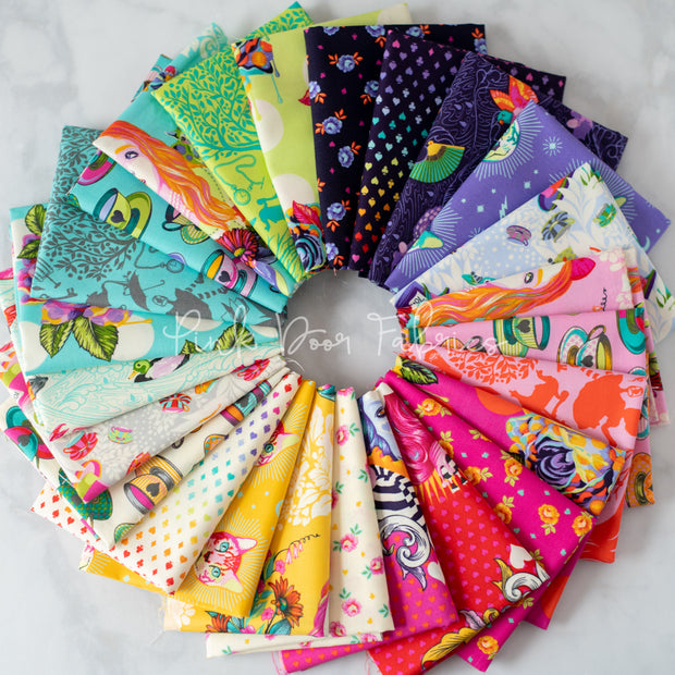 Curiouser & Curiouser - 25 Piece Fat Quarter Bundle - Tula Pink for Free Spirit - FB2FQTP.CURIOUSER