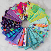 Curiouser & Curiouser - 24 Piece Fat Quarter Bundle - Tula Pink for Free Spirit - FB2FQTP.DAYDREAM