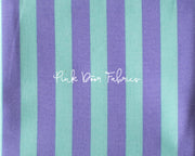 tula pink all stars stripe in petunia purple