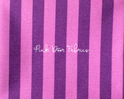 Tula Pink All Stars Stripe iN Foxglove Purple
