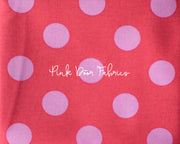 Tula Pink All Stars Pom Pom Dot in Poppy Pink