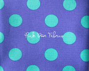 Tula Pink All Stars Pom Pom Dot in Iris Purple