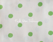 Heather Ross, Sugarplum, Dots in Green, 50169-5