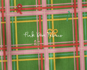 Heather Ross, Sugarplum, Plaid in Green, 50168-5