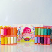 Curiouser & Curiouser - Aurifil 50 wt. 20 piece Thread Set - HK50QR6