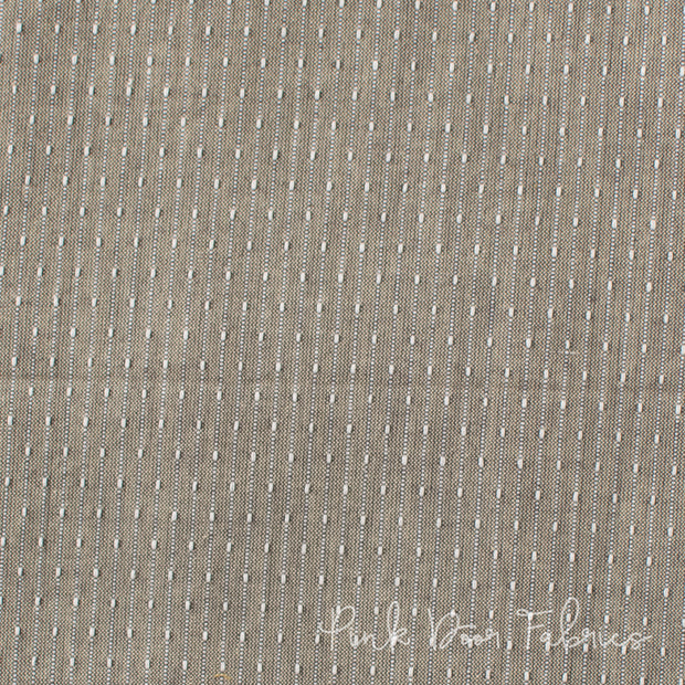 Manchester - Stitch Stripe in Fern - PRF-585 - Half Yard