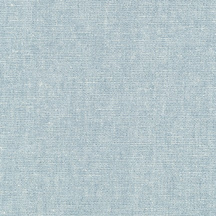 Essex Linen - Metallic in Water - Robert Kaufman Fabrics - E105-171 - Half Yard