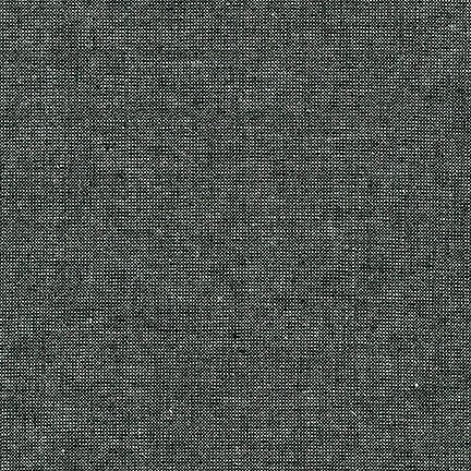 Essex Linen - Metallic in Ebony - Robert Kaufman Fabrics - E105-364 - Half Yard