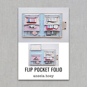 Flip Pocket Folio - Sewing Pattern - Aneela Hoey - Paper Pattern