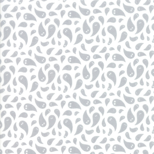 Midnight Magic - Ghosted in Ghost - April Rosenthal for Moda - 24081 11 - Half Yard