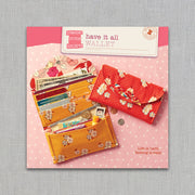 Have It All Wallet - Straight Stitch Society - Sewing Pattern - Paper Pattern