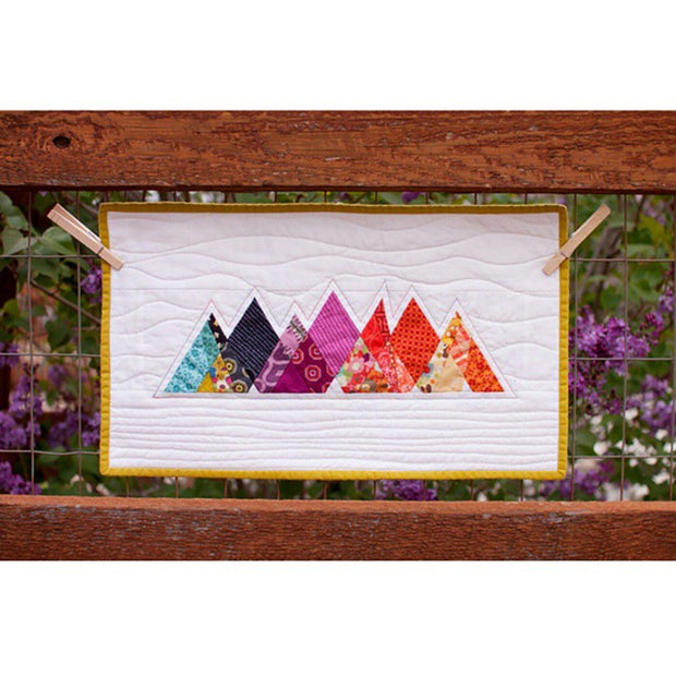 Pink Door Fabrics - DMMQG Mountains - Paper Piecing Pattern