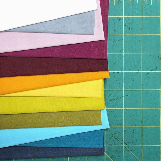 Century Solids - Giucy Giuce Collective - 12pc Fat Quarter Bundle - Andover Fabrics - CS-GG-FQ