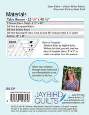 Seaside - Jaybird Quilts - Paper Pattern - JBQ 134