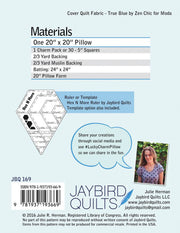 PREORDER - Lucky Charm - Jaybird Quilts - Paper Pattern