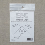 Jen Kingwell - Template Grips - Adhesive grips for rulers and templates - JKD 8373