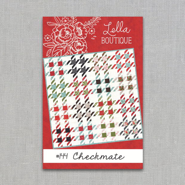 Checkmate - Paper Pattern - Lella Boutique - LB144