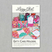 Gifty Card Holders - Paper Pattern - Lazy Girl Designs - LGD141