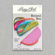 Banana Bag - Paper Pattern - Lazy Girl Designs - LGD143