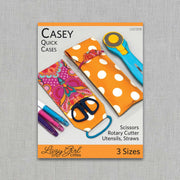 Casey Quick Cases - Paper Pattern - Lazy Girl Designs - LGD308