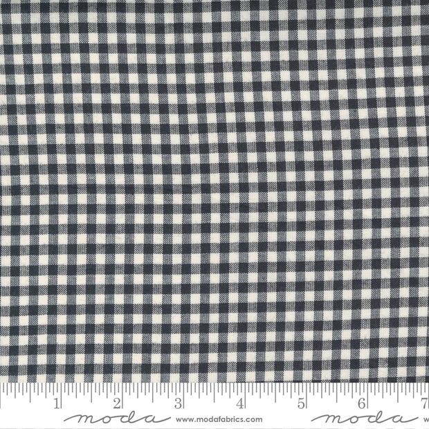 Low Volume Wovens - Little Check in Charcoal - Jen Kingwell for Moda Fabrics - 18201-24 - Half Yard