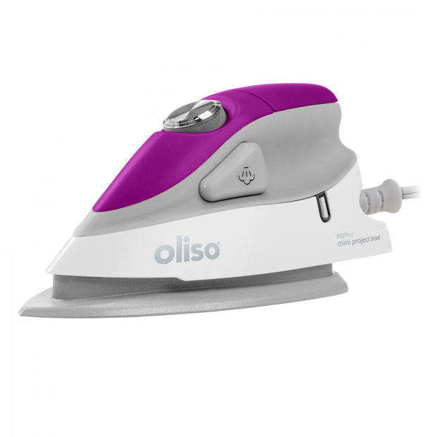 Oliso - Purple Mini Iron with Trivet - M2PRO-PUR