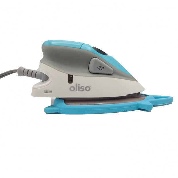 Oliso - Turquoise Mini Iron with Trivet - M2PRO-TUR
