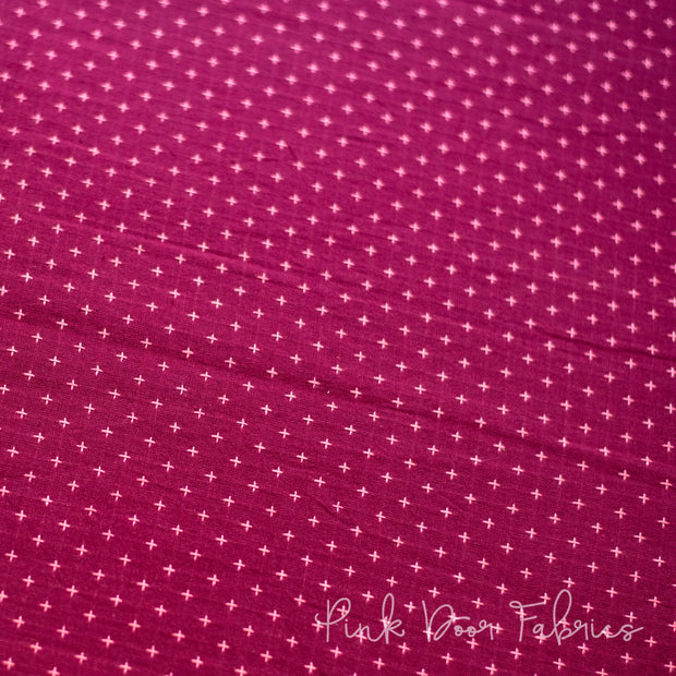 Manchester - Plus in Plum Pink - MANCH 3203 - Half Yard