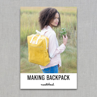 Making Backpack - Sewing Pattern - Noodlehead - Paper Pattern