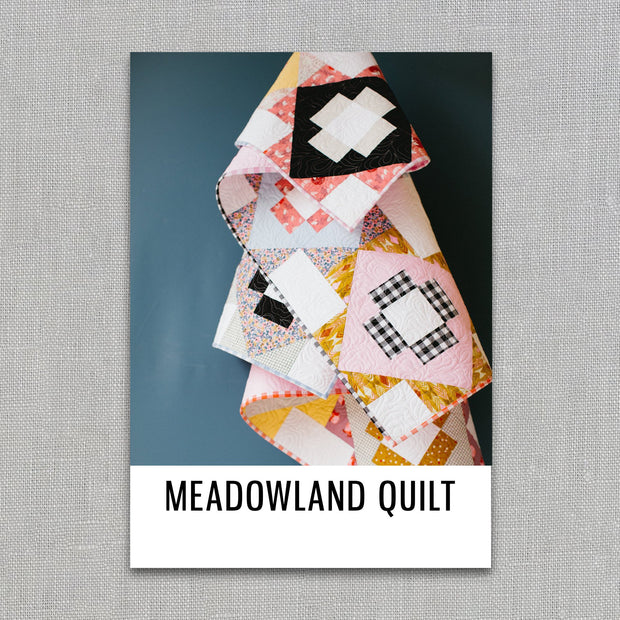 Meadowland - Then Came June - Quilt Pattern - Paper Pattern