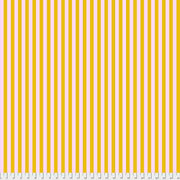 tula pink all stars stripe in marigold yellow