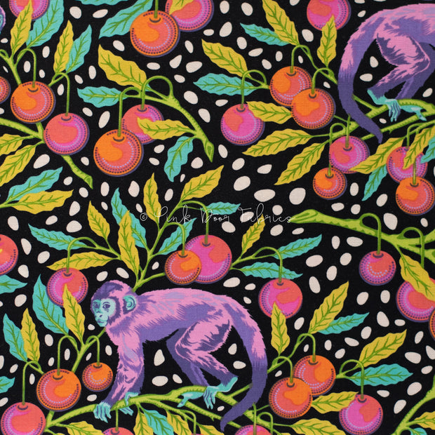 Monkey Wrench - Monkey Wrench in Guava - Tula Pink - PWTP134.GUAVA - Half Yard