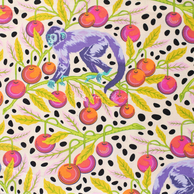 Monkey Wrench - Monkey Wrench in Mango - Tula Pink - PWTP134.MANGO - Half Yard