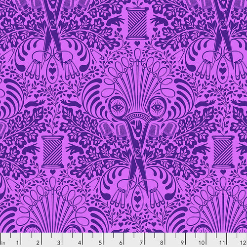 Homemade - Getting Snippy in Night - Tula Pink for Free Spirit - PWTP141.NIGHT - Half Yard