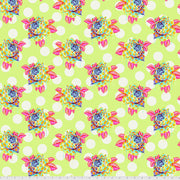 Curiouser & Curiouser - Painted Roses in Sugar - Tula Pink for Free Spirit - PWTP161.SUGAR - Half Yard
