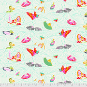 Curiouser & Curiouser - Sea of Tears in Wonder - Tula Pink for Free Spirit - PWTP162.WONDE - Half Yard