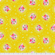Curiouser & Curiouser - Cheshire in Wonder - Tula Pink for Free Spirit - PWTP164.WONDE - Half Yard